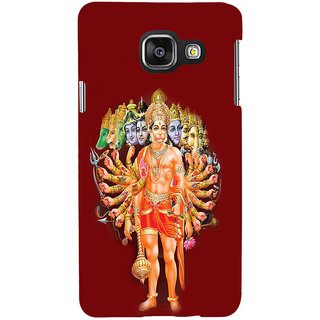 ifasho Lord Hanuman Back Case Cover for Samsung Galaxy A3 A310 (2016 Edition)