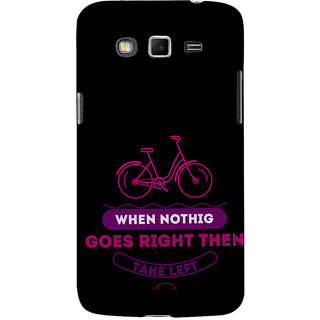 ifasho Right and Wrong Quote Back Case Cover for Samsung Galaxy Grand