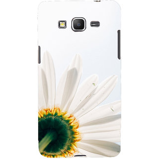 ifasho Flower Design white flower in white background Back Case Cover for Samsung Galaxy Grand Prime