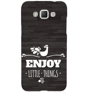 ifasho enjoy little things Back Case Cover for Samsung Galaxy Grand3