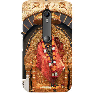 ifasho Shirdi Sai Baba Back Case Cover for Moto X Force