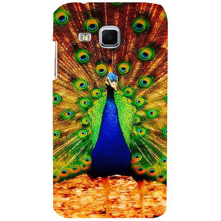 ifasho Beautiful Peacock Back Case Cover for Samsung Galaxy J3