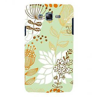 ifasho Animated Pattern painting colrful design cartoon flower with leaves Back Case Cover for Samsung Galaxy J7 (2016)