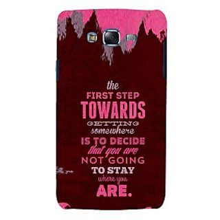 ifasho Kowledge quotes Back Case Cover for Samsung Galaxy J7 (2016)