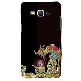 ifasho krishna driving Chariot of Arjun Back Case Cover for Samsung Galaxy Grand Prime