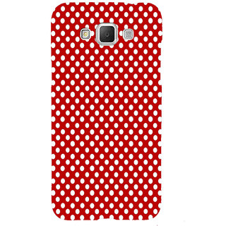ifasho Animation Clourful white Circle on red background Pattern Back Case Cover for Samsung Galaxy Grand Max