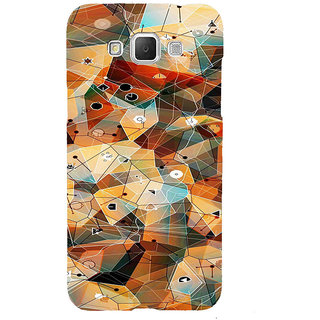 ifasho Modern Theme of royal design in colorful pattern Back Case Cover for Samsung Galaxy Grand3