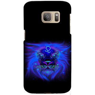ifasho zodiac sign leo Back Case Cover for Samsung Galaxy S7 Edge