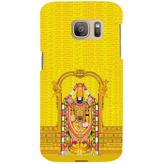 ifasho Tirupati Balaji Back Case Cover for Samsung Galaxy S7 Edge