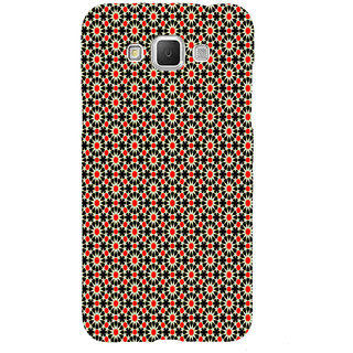 ifasho Animated Pattern design black and red flower in white background Back Case Cover for Samsung Galaxy Grand Max