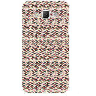 ifasho Modern Art Design Pattern Lot of fish Back Case Cover for Samsung Galaxy Grand Max