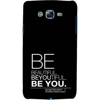 ifasho beautiful qoutes Back Case Cover for Samsung Galaxy J7 (2016)