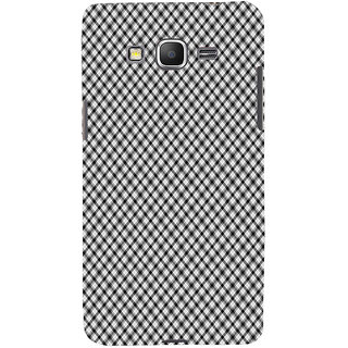 ifasho Design lines pattern and square pattern Back Case Cover for Samsung Galaxy Grand Prime