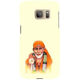 ifasho Shirdi wale Sai Baba Back Case Cover for Samsung Galaxy S7 Edge