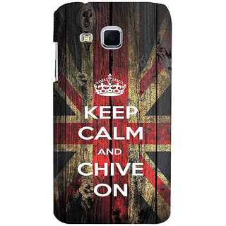 ifasho Nice Quote On Keep Calm Back Case Cover for Samsung Galaxy J3