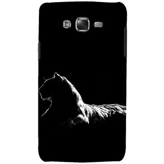 ifasho Leopard resting Back Case Cover for Samsung Galaxy J7 (2016)