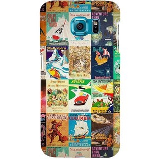 ifasho Animated Pattern colourful hollywood film posters  Back Case Cover for Samsung Galaxy S6 Edge Plus