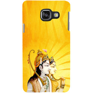 ifasho Lord Rama and sita Back Case Cover for Samsung Galaxy A3 A310 (2016 Edition)