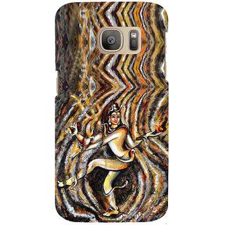 ifasho nataraj Back Case Cover for Samsung Galaxy S7 Edge