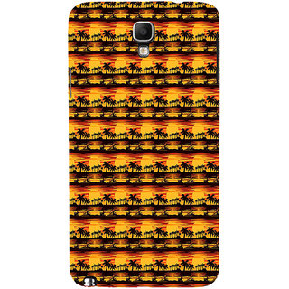 ifasho Modern Design animated Pattern small 3Dees in lines Back Case Cover for Samsung Galaxy Note3 Neo