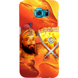 ifasho Sikh Guru Gobind singh Back Case Cover for Samsung Galaxy S6 Edge Plus