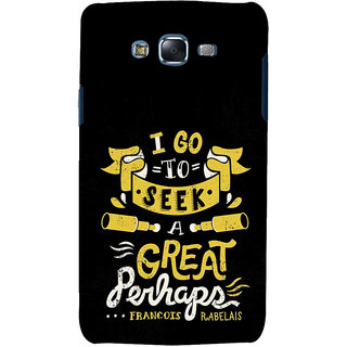 ifasho Life quote Back Case Cover for Samsung Galaxy J7 (2016)
