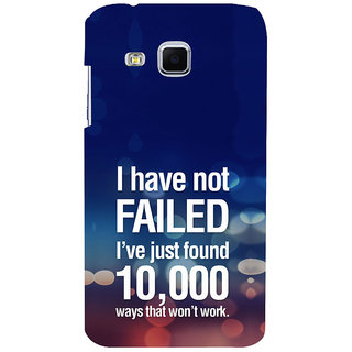 ifasho quotes on success Back Case Cover for Samsung Galaxy J3