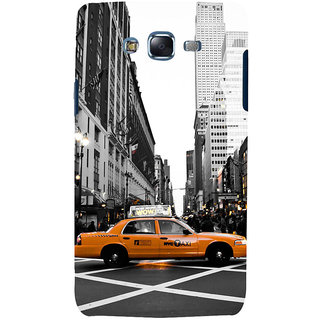 ifasho Car In newyork City taxi Back Case Cover for Samsung Galaxy J7