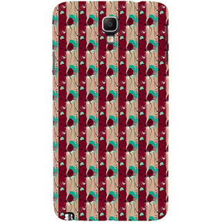 ifasho Animated Pattern design colorful flower in vertical s3Dipe Back Case Cover for Samsung Galaxy Note3 Neo