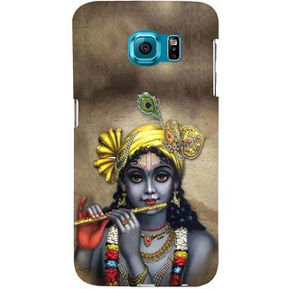 ifasho Lord Krishna with Flute Back Case Cover for Samsung Galaxy S6
