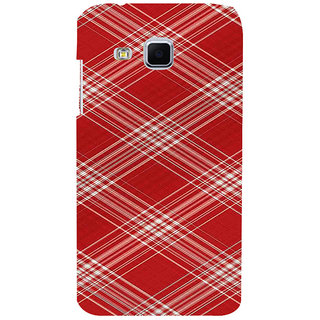 ifasho Design lines pattern Back Case Cover for Samsung Galaxy J3