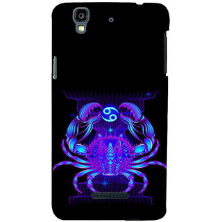ifasho zodiac sign cancer Back Case Cover for YU Yurekha
