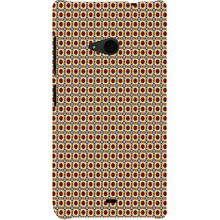 ifasho Animated Pattern design many small flowers  Back Case Cover for Nokia Lumia 535