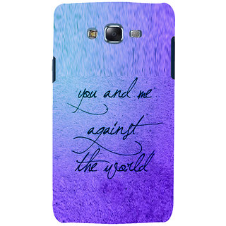 ifasho Love Quotes for love Back Case Cover for Samsung Galaxy J7 (2016)