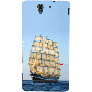 ifasho Ship in See Back Case Cover for Sony Xperia C3 Dual
