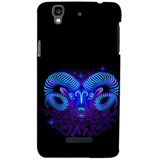 ifasho zodiac sign capricorn Back Case Cover for YU Yurekha