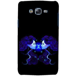 ifasho zodiac sign gemini Back Case Cover for Samsung Galaxy J7