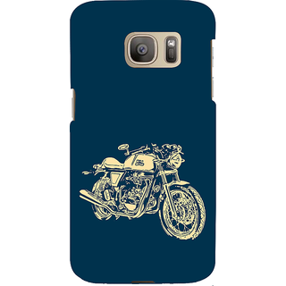 ifasho Fierry Bike Back Case Cover for Samsung Galaxy S7 Edge