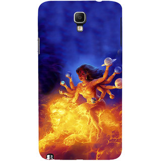 ifasho Godess Durga Back Case Cover for Samsung Galaxy Note3 Neo