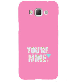 ifasho Love Quotes you are mine Back Case Cover for Samsung Galaxy Grand Max