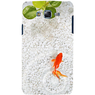 ifasho Fish in water with stone acquarium Back Case Cover for Samsung Galaxy J5