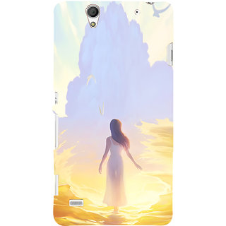 ifasho Girl painting Back Case Cover for Sony Xperia C4