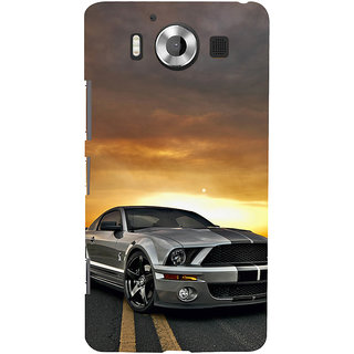 ifasho Wow car Back Case Cover for Nokia Lumia 950