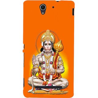 ifasho Lord Hanuman Back Case Cover for Sony Xperia C3 Dual