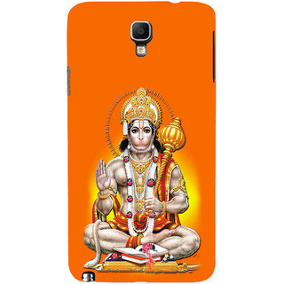 ifasho Lord Hanuman Back Case Cover for Samsung Galaxy Note3 Neo