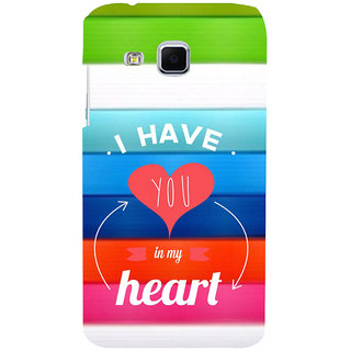 ifasho I have you in my heart Back Case Cover for Samsung Galaxy J3