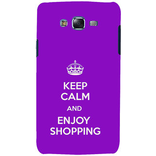 ifasho Nice Quote On Keep Calm Back Case Cover for Samsung Galaxy J7