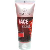 Oxyglow Strawberry Face Wash - 50ml