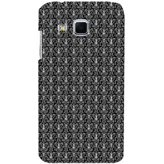 ifasho Animated Pattern black and white butterfly Back Case Cover for Samsung Galaxy J3