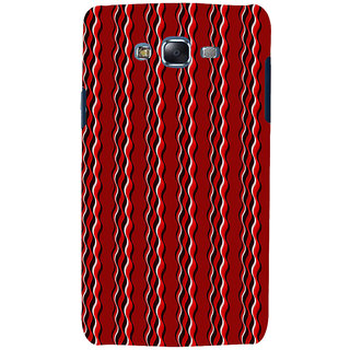 ifasho Design lines pattern Back Case Cover for Samsung Galaxy J7